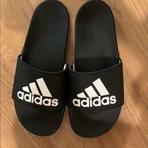 Adidas slippers like walking on clouds